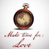 Make time for love Stock Photos