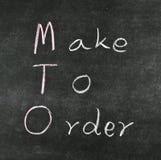 Make to order Stock Photos