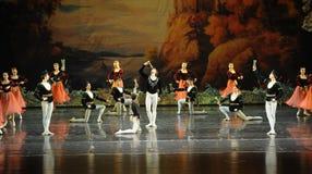 Make a toast-ballet Swan Lake Royalty Free Stock Photography