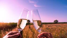 Make a toast Stock Image