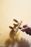 Make tortellini pasta royalty free stock photo
