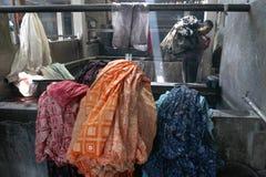 Make Traditional Cloth called Batik Royalty Free Stock Photography