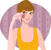 Make up stock illustration