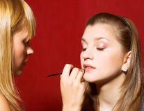 Make-up Stock Foto