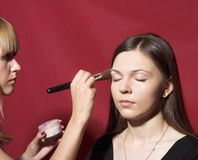 Make-up royalty-vrije stock foto's