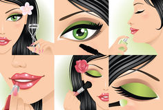 Make-up. Royalty Free Stock Image