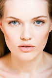 Make-up. Portrait of young beautiful girl with make-up Royalty Free Stock Photo