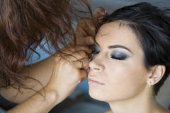 Make-up Royalty-vrije Stock Foto