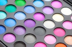 Make up. Professional multicolor make up set Stock Photo