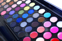 Make up. Set color palette stock photos