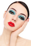 Make-up Royalty Free Stock Photos