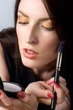 Make-up Royalty-vrije Stock Foto's