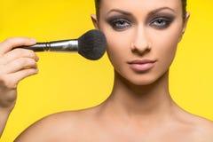 Make-up. Stockbild