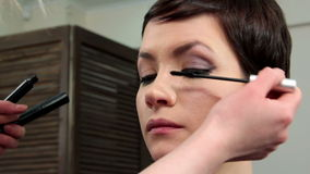 Make-up 40 stock footage