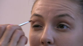 Make-up 3 stock video footage
