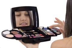 Make-up Royalty-vrije Stock Afbeeldingen