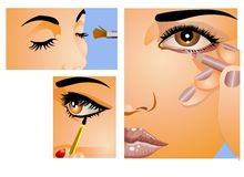 Make -Up Royalty Free Stock Photo
