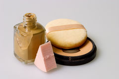 Make-up. Products stock images