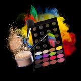 Make-up accesories Royalty Free Stock Photography