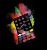 Make-up accesories Royalty Free Stock Image