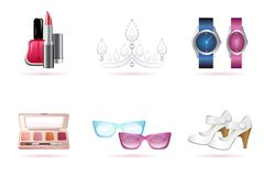 Make up accessories Royalty Free Stock Photography