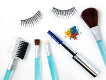 Make-up accessories Royalty Free Stock Images