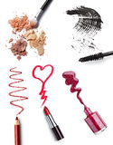 Make up accessories Royalty Free Stock Images