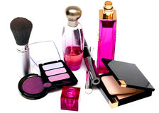 Make up accessories Stock Photography