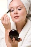 Make up application Royalty Free Stock Image