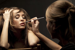 Make-up artist Royalty Free Stock Photo