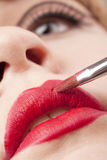 Make-up artist Royalty Free Stock Images