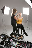 Make-up artist Stock Photos