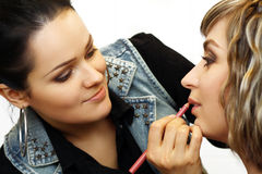 Make up artist Stock Image