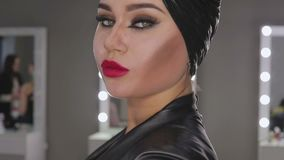 make up artist make the girl halloween make up in studiohalloween face art