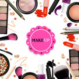 Make Up Artist Objects. Stock Image
