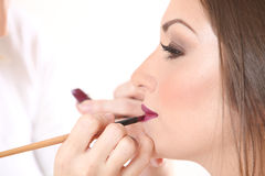 Make-up artist Royalty Free Stock Photos