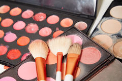 Make up artist set Royalty Free Stock Image