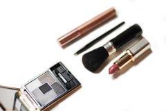 Make-up artist tool box royalty free stock image