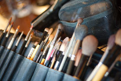 Make up artist work professional occupation art Royalty Free Stock Photos