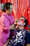 Make up as the Chinese Opera Royalty Free Stock Images