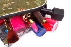 Make up bag Royalty Free Stock Photo