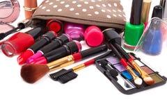Make up bag Royalty Free Stock Photos