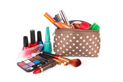 Make up bag Royalty Free Stock Images