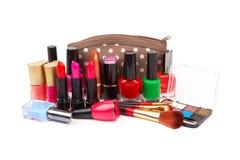 Make up bag Royalty Free Stock Image