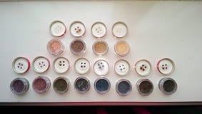 Make-up. Bareminerals  eye shadows Stock Image