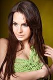 Make up of beautiful girl. Stock Image