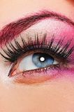 Make-up of a beautiful woman eye Stock Photos