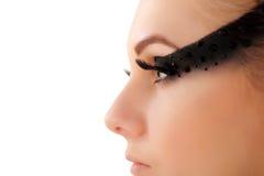 Make-up beautiful young woman Royalty Free Stock Image