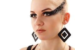 Make-up beautiful young woman Stock Photo