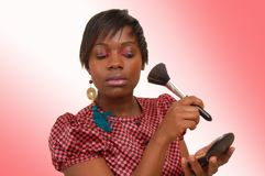 Make Up Beauty Stock Photography